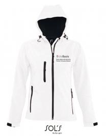 Basis Damen Kapuzen Softshell Jacke