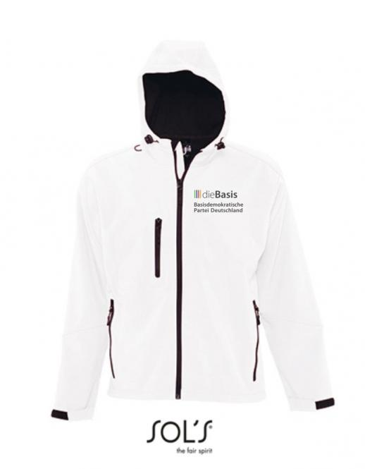Basis Kapuzen Softshell Jacke